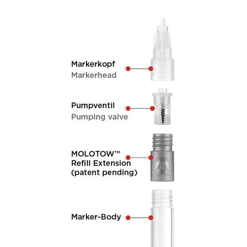 MOLOTOW MOLOTOW Refill Extension 211EM Starter Kit