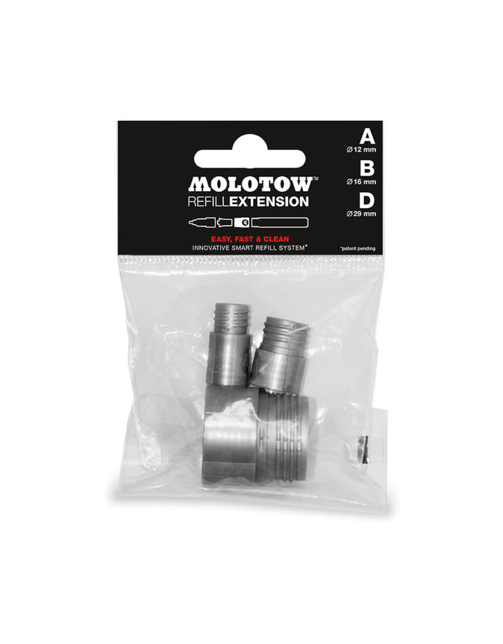 "MOLOTOW MOLOTOW Refill Extension ""TRYOUT PACK"""