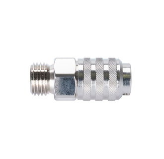 Quick couplings nd 5.0 mm with male thread