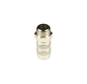 Quick couplings nd 2.7 mm with male thread