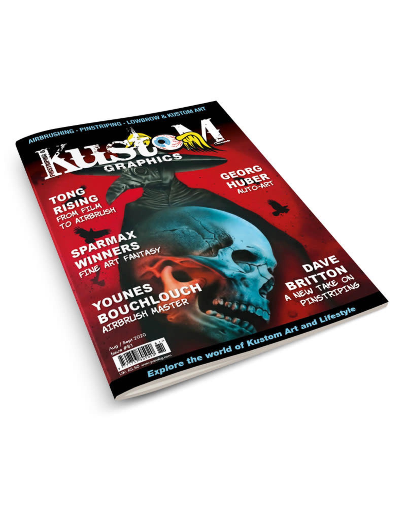 Pinstriping & Kustom Graphics magazine Pinstriping & Kustom Graphics magazine #81