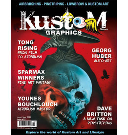 Pinstriping & Kustom Graphics magazine Pinstriping & Kustom Graphics magazine #81