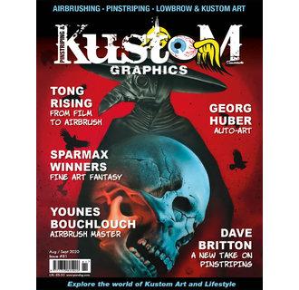 Pinstriping & Kustom Graphics magazine #81