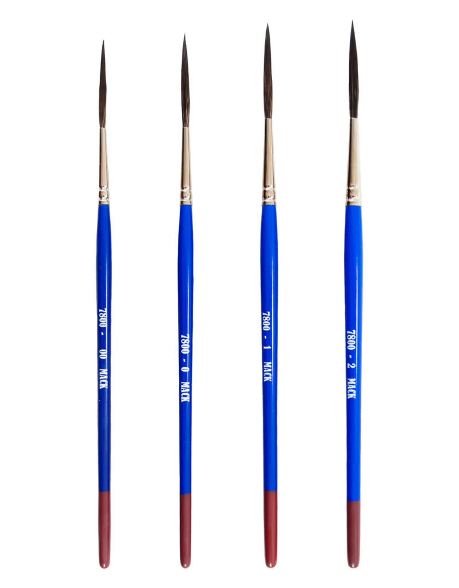 Mack Brushes Mack Series 7800 Long Handled Bobbo Liner Brushes