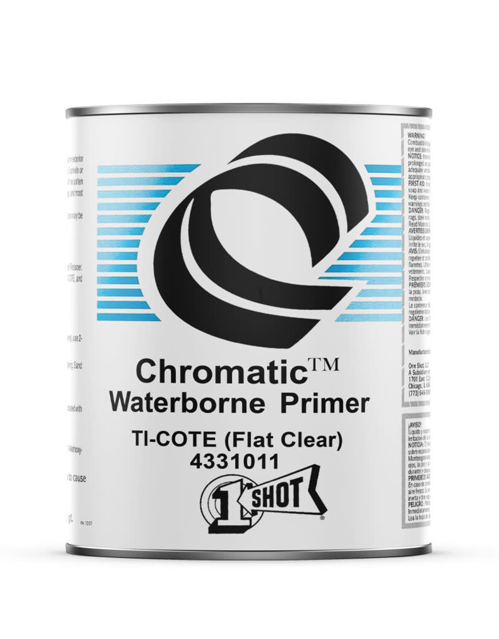 1 Shot 1 Shot Ti-Cote Clear Primer Barrier 946 ml