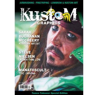 Pinstriping & Kustom Graphics magazine #82