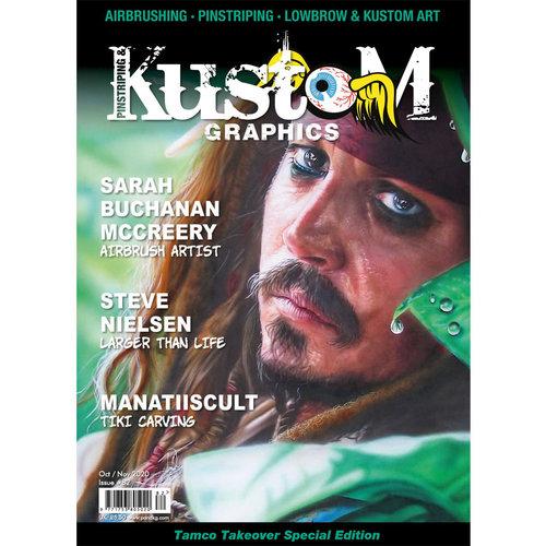 Pinstriping & Kustom Graphics magazine Pinstriping & Kustom Graphics magazine 82