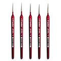 Kolibri Kolibri Series 333 Red Sable Detail Brushes