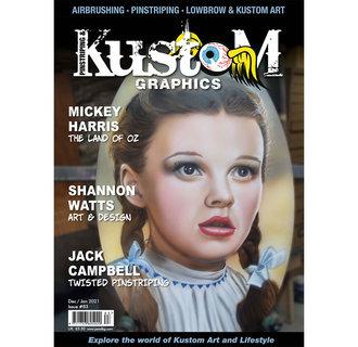 Pinstriping & Kustom Graphics magazine #83