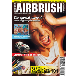 Airbrush Step by Step magazine 58