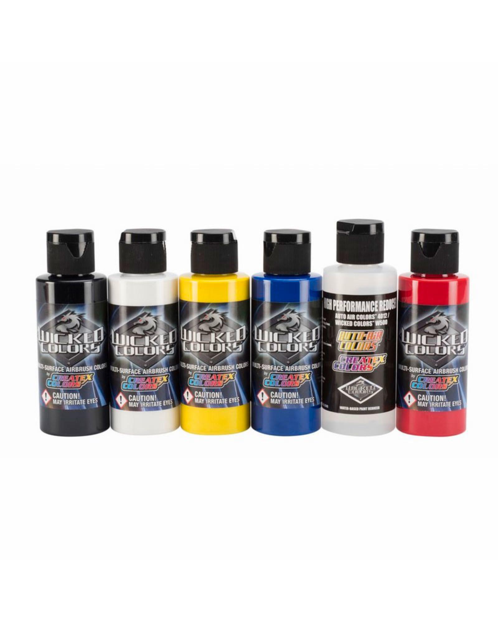 Createx Colors Createx Wicked Primary Set 60 ml