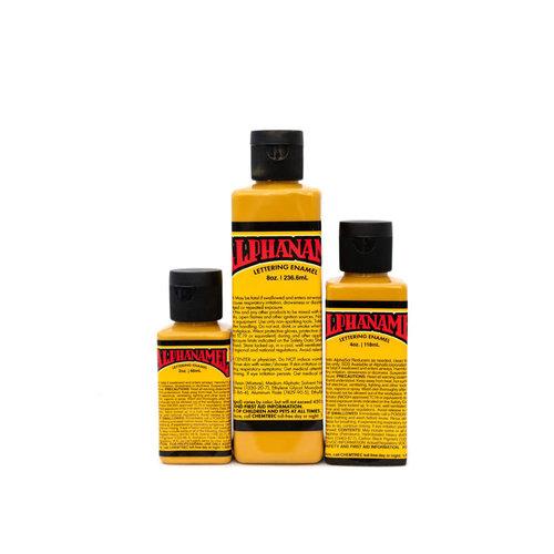 Alpha 6 Corporation Alphanamel Signwriting and Pinstriping enamel paint - IMITATION Gold