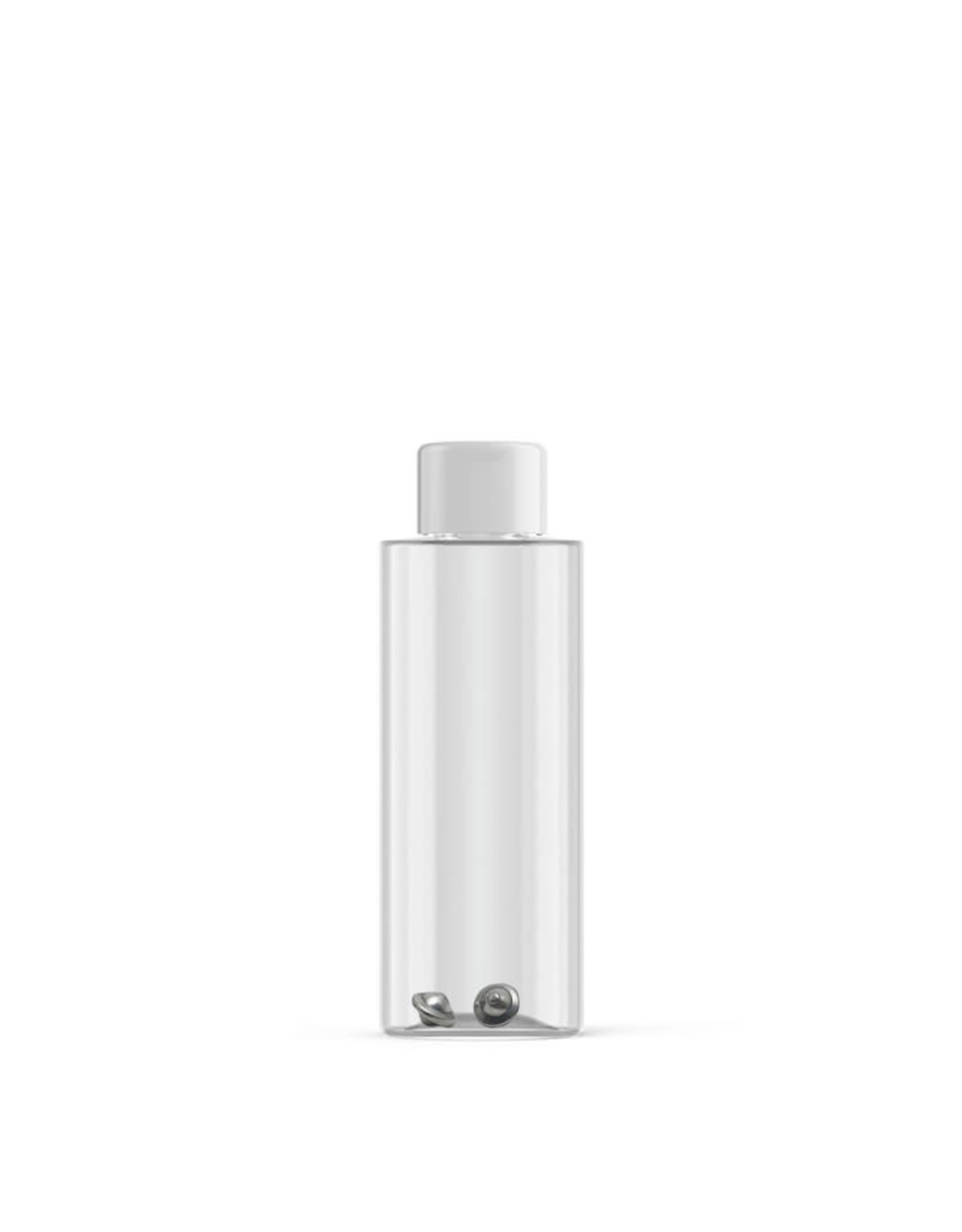 Nipak Nipak Empty Bottle with White Cap and Insert + Paint Rattlers