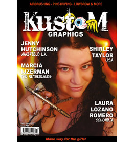 Pinstriping & Kustom Graphics magazine Pinstriping & Kustom Graphics magazine #84
