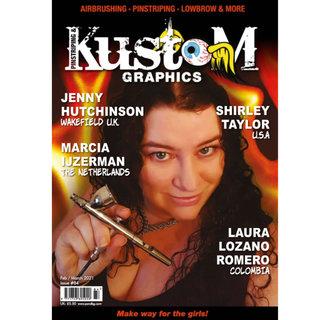 Pinstriping & Kustom Graphics magazine #84
