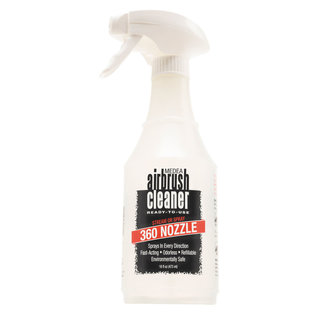 Airbrush Cleaner with Invertible 360° Nozzle 473 ml