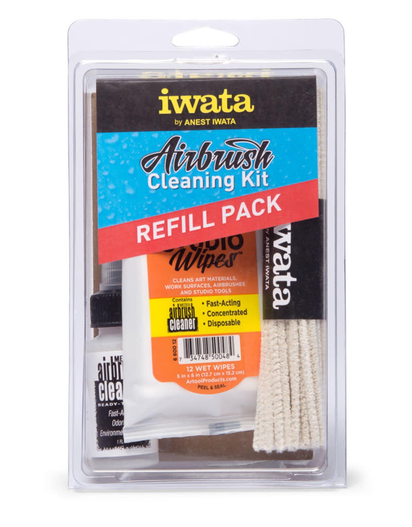 Iwata Iwata Airbrush Cleaning Kit Refill Pack