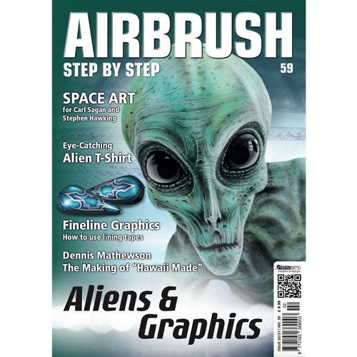 Airbrush Step by Step magazine Airbrush Step by Step magazine 59