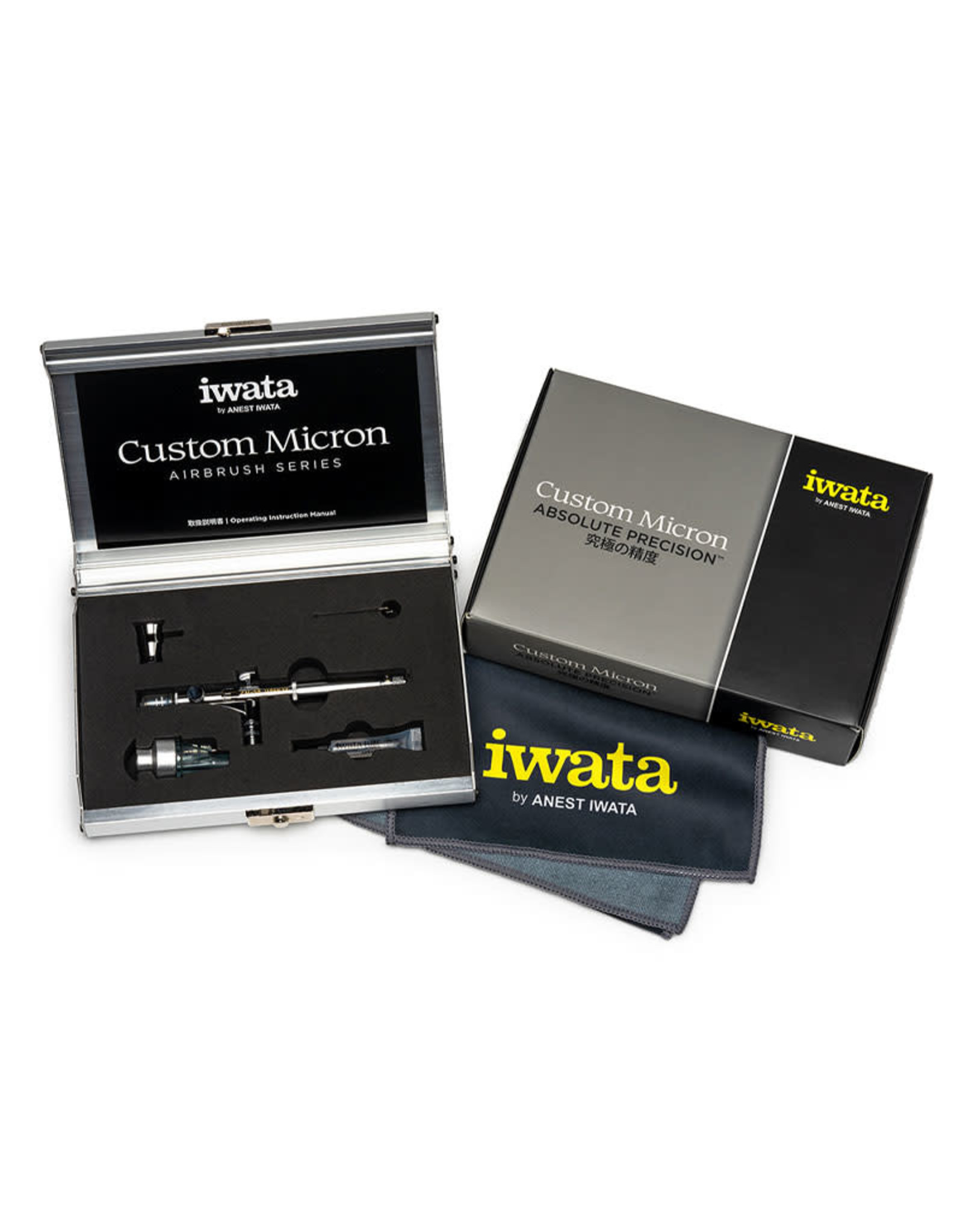Iwata Iwata Custom Micron CM-SB Side Feed Dual Action Airbrush