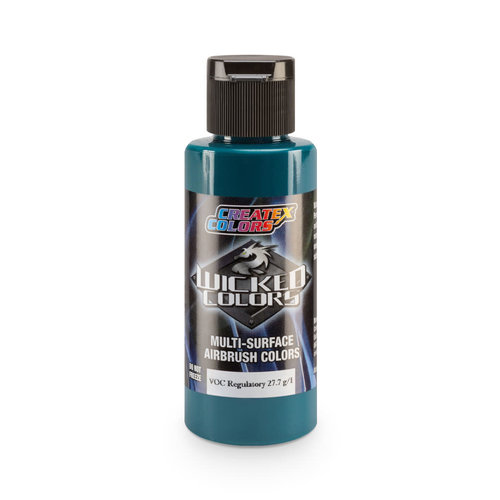 Createx Colors Createx Wicked Transparent Airbrush Colors 60 ml - W009 Pthalo Green