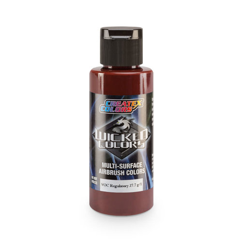 Createx Colors Createx Wicked Transparent Airbrush Colors 60 ml - W012 Red Oxide