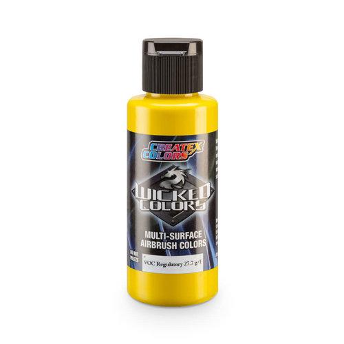 Createx Colors Createx Wicked Opaque Airbrush Colors 60 ml - W080 Opaque Hansa Yellow