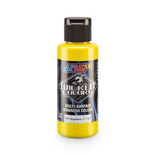 Createx Colors Createx Wicked Opaque Airbrush Colors 60 ml - W081 Opaque Bismuth VandateYellow