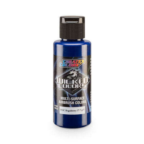 Createx Colors Createx Wicked Opaque Airbrush Colors 60 ml - W086 Opaque Phthalo Blue