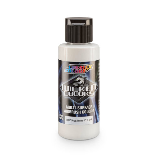 Createx Colors Createx Wicked Pearl and Metallic Airbrush Colors 60 ml - W301 Pearl White