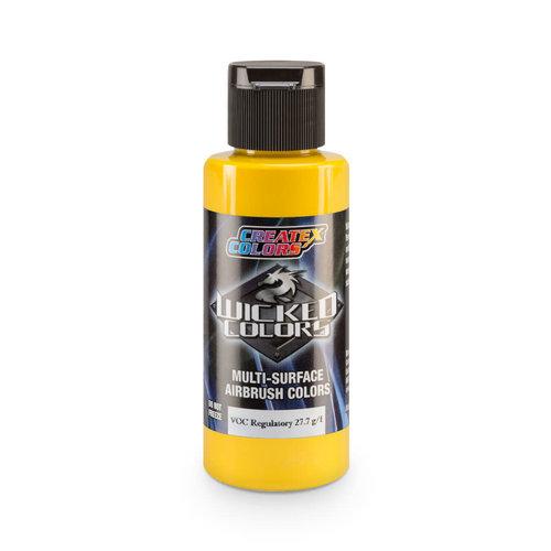 Createx Colors Createx Wicked Pearl and Metallic Airbrush Colors 60 ml - W302 Pearl Yellow