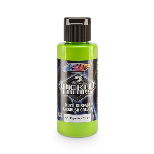 Createx Colors Createx Wicked Pearl and Metallic Airbrush Colors 60 ml - W305 Pearl Lime Green