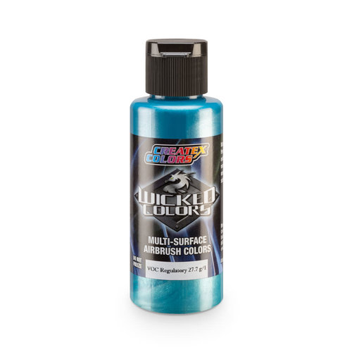 Createx Colors Createx Wicked Pearl and Metallic Airbrush Colors 60 ml - W309 Pearl Teal