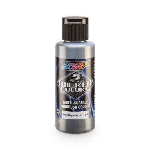 Createx Colors Createx Wicked Pearl and Metallic Airbrush Colors 60 ml - W312 Pearl Silver