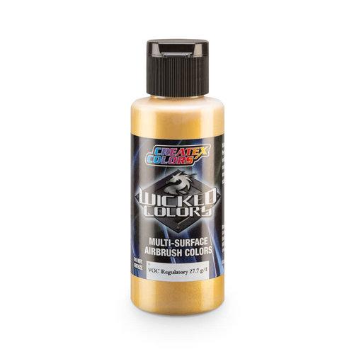 Createx Colors Createx Wicked Pearl and Metallic Airbrush Colors 60 ml - W313 Pearl Gold