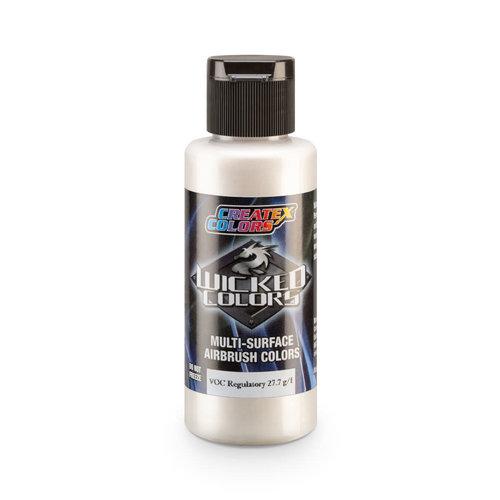 Createx Colors Createx Wicked Pearl and Metallic Airbrush Colors 60 ml - W361 Metallic White Coarse
