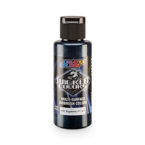 Createx Colors Createx Wicked Pearl and Metallic Airbrush Colors 60 ml - W366 Metallic Midnight Blue