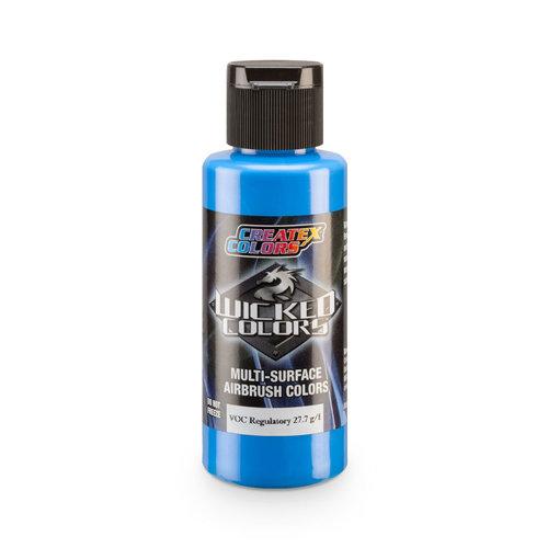 Createx Colors Createx Wicked Pearl and Metallic Airbrush Colors 60 ml - W381 Iridescent Brite Blue