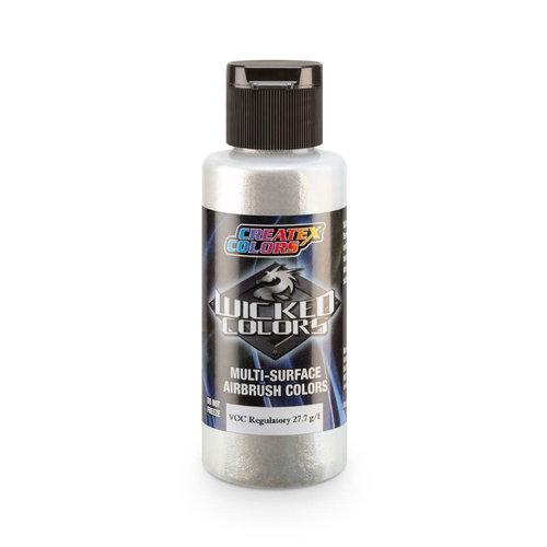 Createx Colors Createx Wicked Pearl-Flake Airbrush Colors 60 ml - W420 Hot Rod Sparkle White