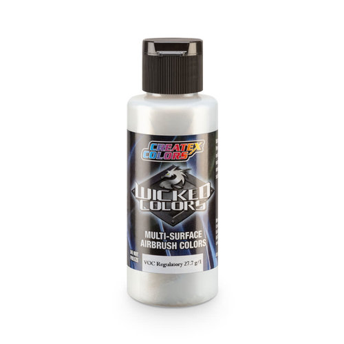 Createx Colors Createx Wicked Pearl-Flake Airbrush Colors 60 ml - W440 Cosmic Sparkle Silver