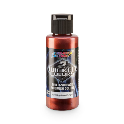 Createx Colors Createx Wicked Pearl-Flake Airbrush Colors 60 ml - W446 Cosmic Sparkle Autumn Red