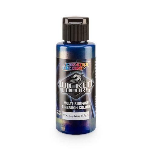 Createx Colors Createx Wicked Pearl-Flake Airbrush Colors 60 ml - W452 Flair Blue Copper