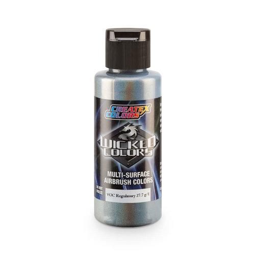 Createx Colors Createx Wicked Pearl-Flake Airbrush Colors 60 ml - W453 Flair Silver Spectrum