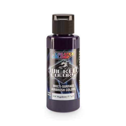 Createx Colors Createx Wicked Detail Airbrush Colors 60 ml - W056 Detail Red Violet