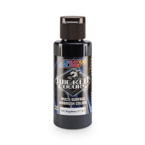Createx Colors Createx Wicked Detail Airbrush Colors 60 ml - W072 Detail Smoke Black