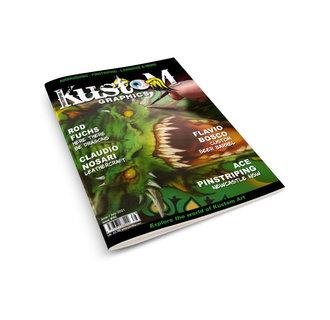 Pinstriping & Kustom Graphics magazine 86