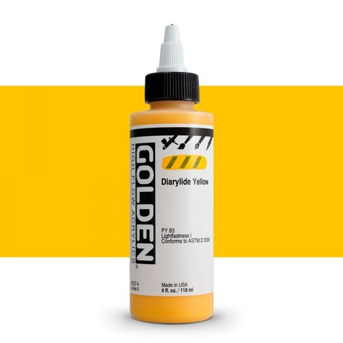 Golden High Flow Acrylics GOLDEN High Flow Acrylics - 8527 Diarylide Yellow