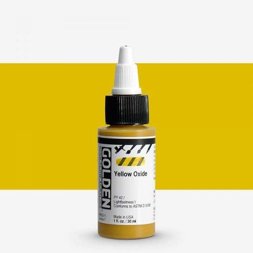 Golden High Flow Acrylics GOLDEN High Flow Acrylics - 8552 Yellow Oxide