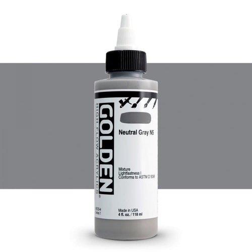 Golden High Flow Acrylics GOLDEN High Flow Acrylics - 8533 Neutral Gray N5