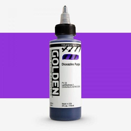Golden High Flow Acrylics GOLDEN High Flow Transparent - 8556 Dioxazine Purple