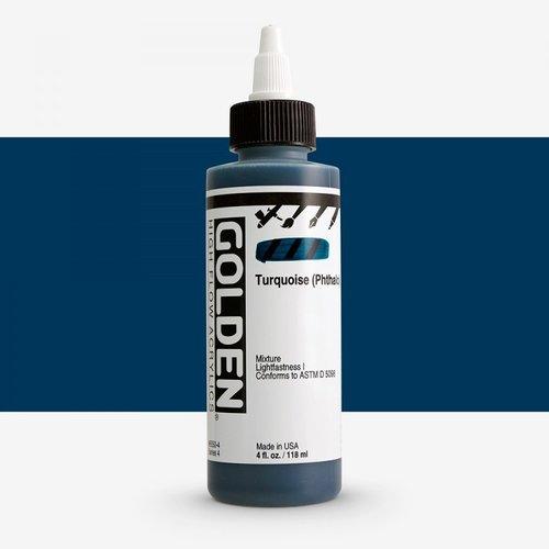 Golden High Flow Acrylics GOLDEN High Flow Acrylics - 8550 Turquoise (Phthalo)